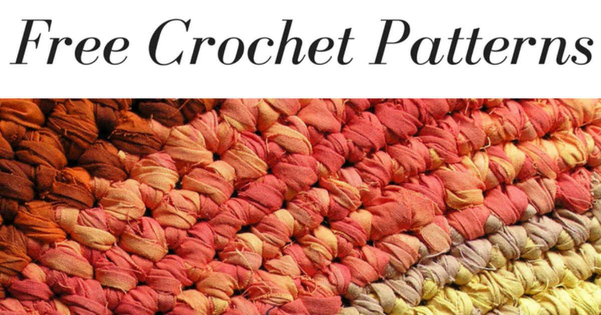 21 Sites For Free Crochet Patterns Fiberartsy