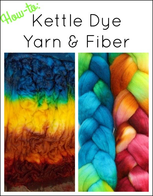 Kettle Dyed Yarn and Fiber