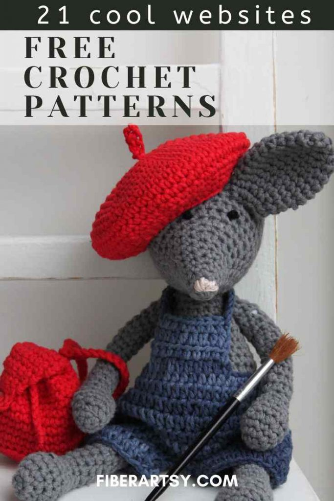 Where to find free crochet patterns