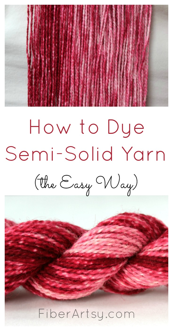 Dyeing Semi Solid or Gradient Yarn