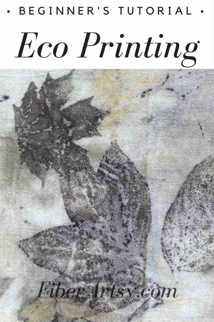Eco Printing Beginners Tutorial by FiberArtsy.com