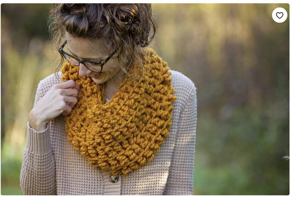 Crochet Kit for making an Infinity Scarf