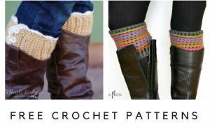 Free Boot Cuff Patterns for Crochet