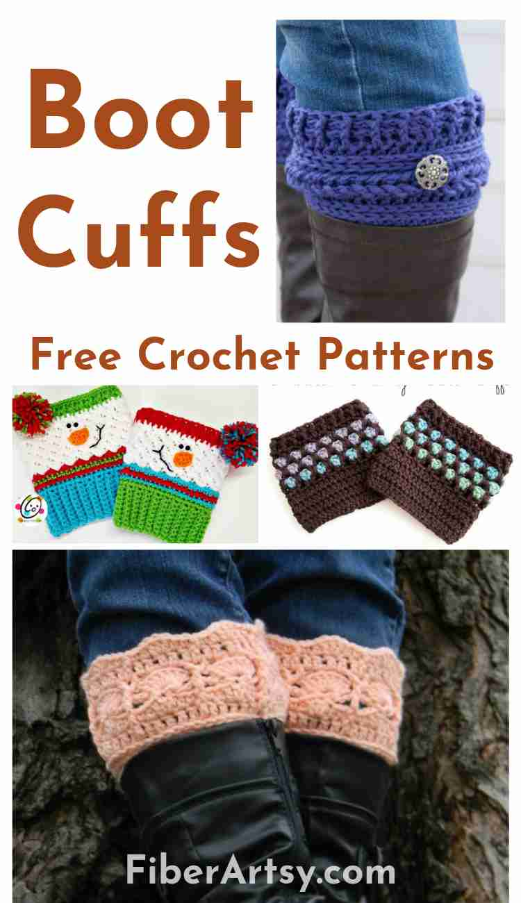 Free Crochet Patterns for Boot Cuffs