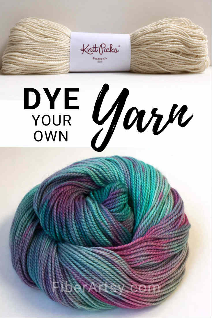 How to Dye your own Yarn in a Crock Pot or Slow Cooker