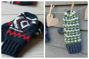 Free Crochet Patterns for Mittens and Gloves