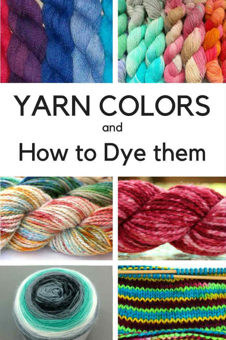 Yarn Color Patterns and How to Dye them with these Yarn Dyeing Techniques-2