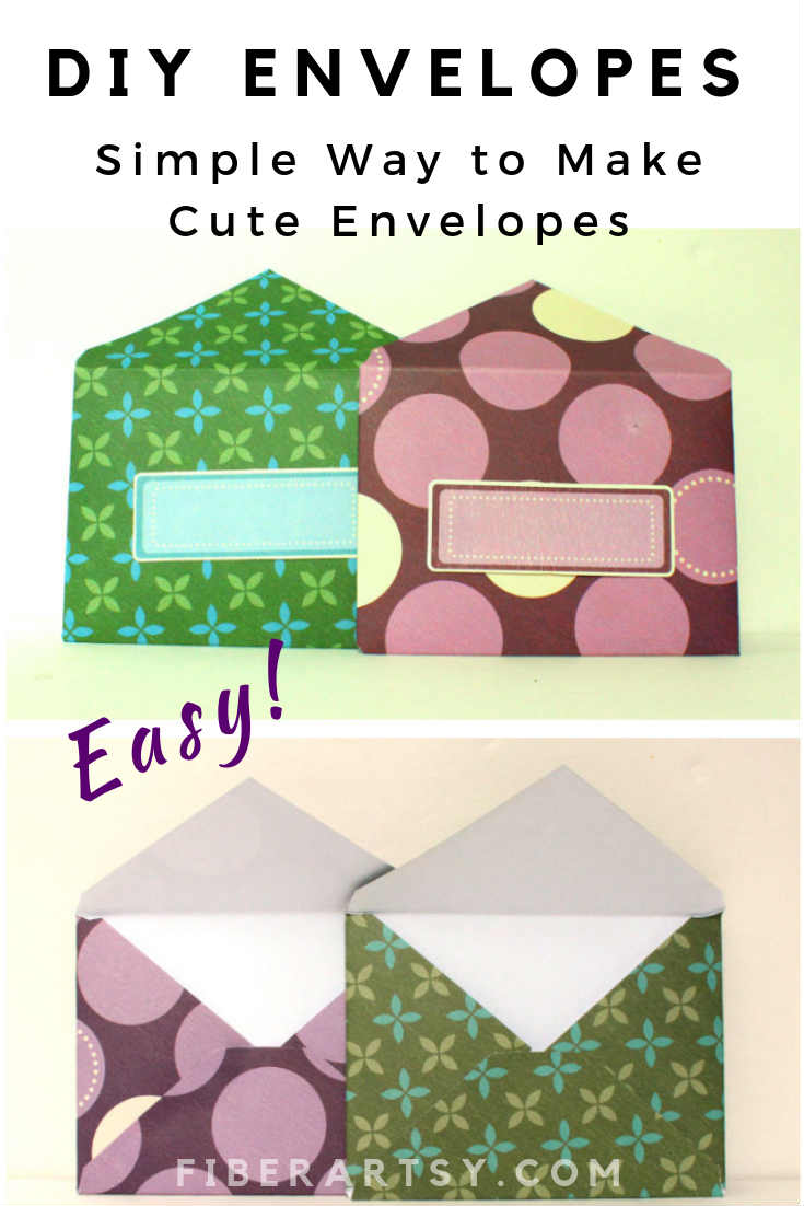 DIY Envelopes for letters or greeting cards