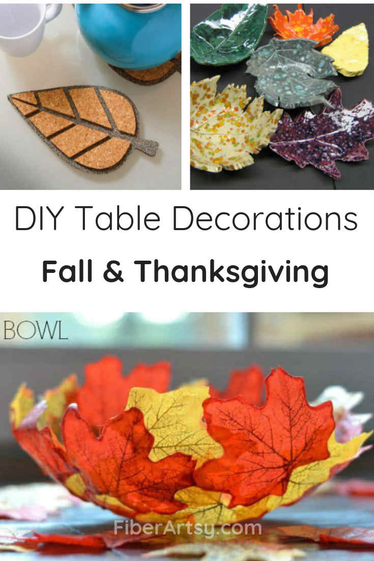 DIY Table Decorations and Centerpieces for Fall and Thanksgiving