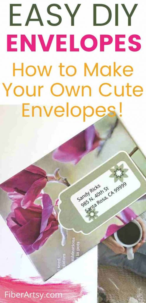 How to Make DIY Envelopes Tutorial