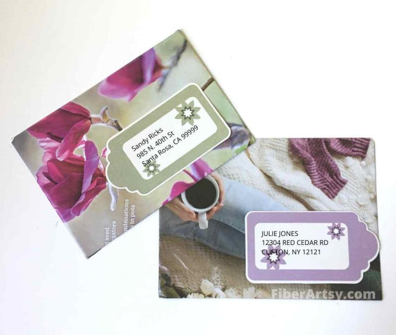 Handmade DIY Envelopes