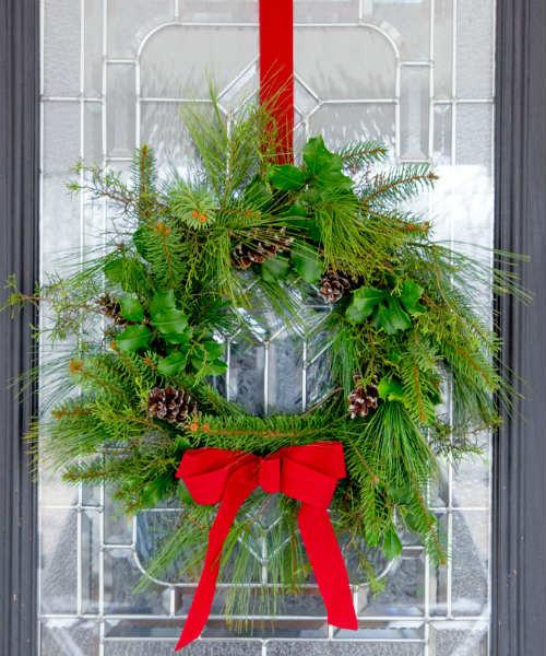 Wreath Fresh Greenery