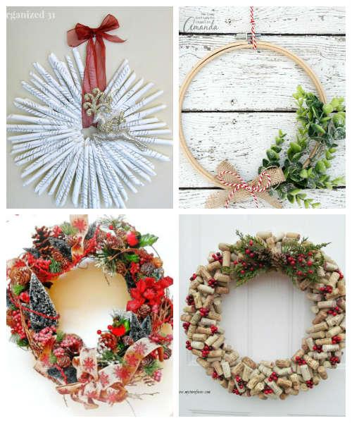 Handmade Diy Christmas Wreath Ideas