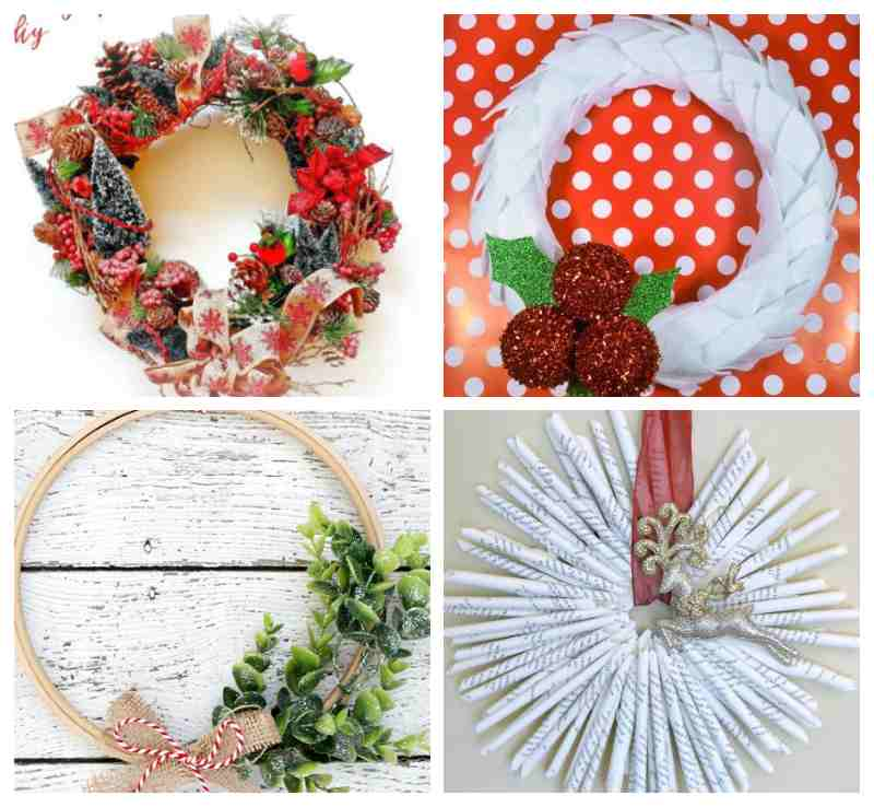 Handmade Diy Christmas Wreath Ideas Fiberartsy Com