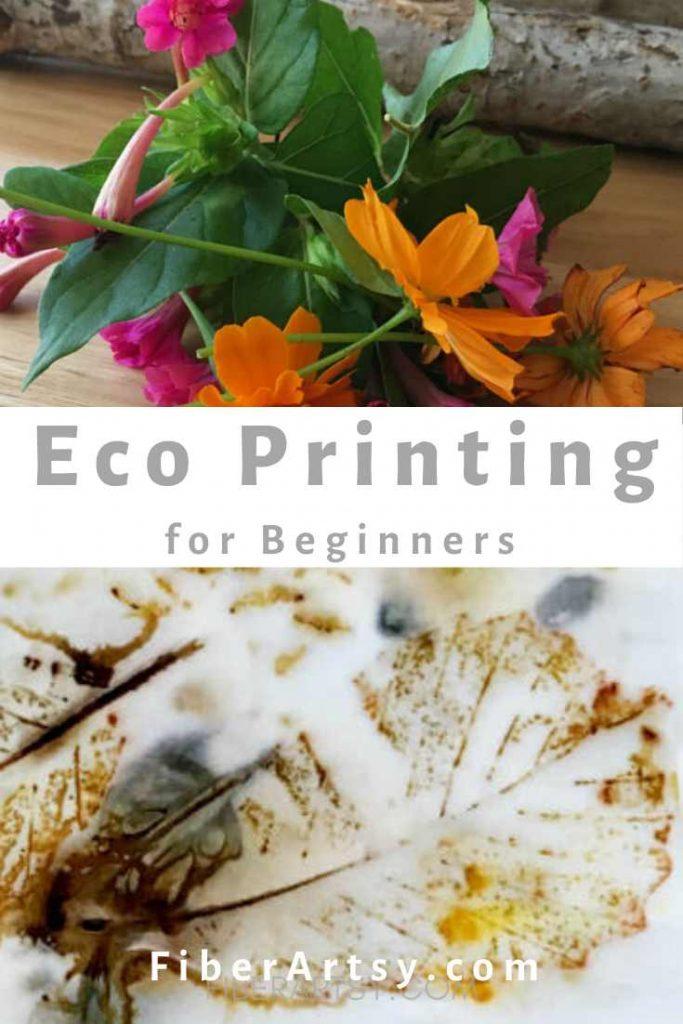 Eco Printed Paper