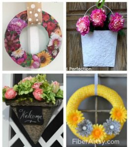 Creative DIY Ideas for Spring Wreaths feature