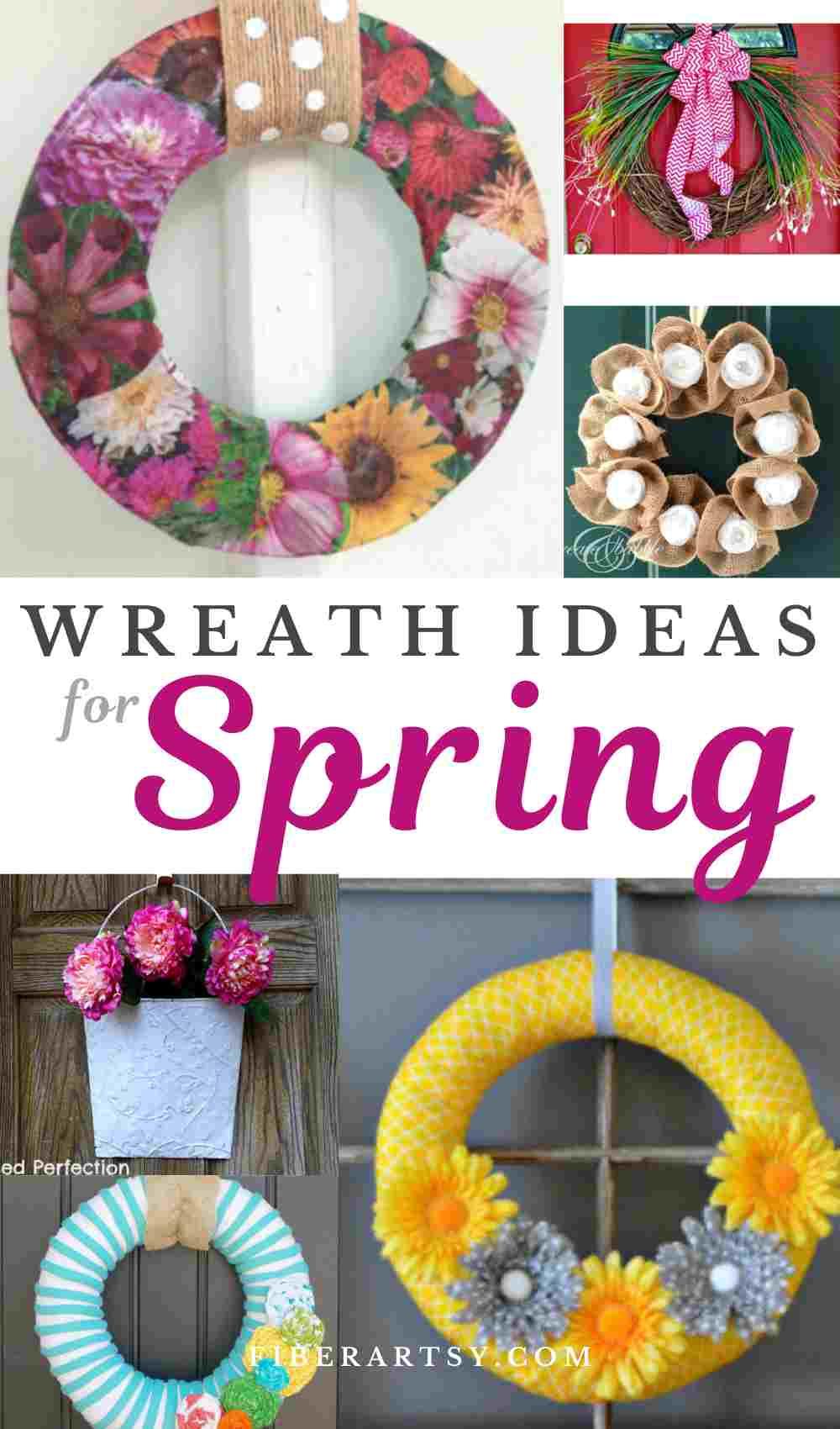 DIY Wreath ideas for Spring