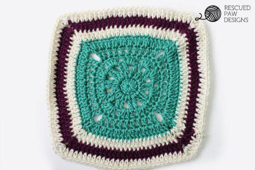 Blanket Square Crochet Pattern