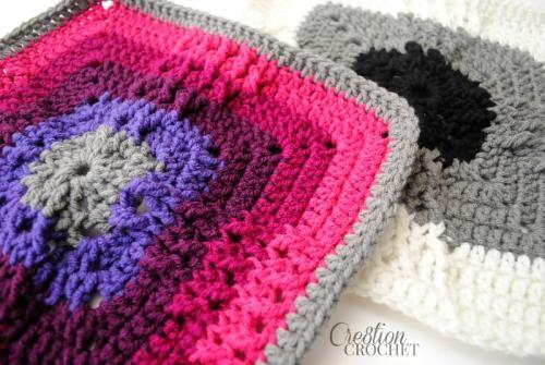 Windmill Crochet Granny Square