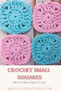 Small Crochet Squares