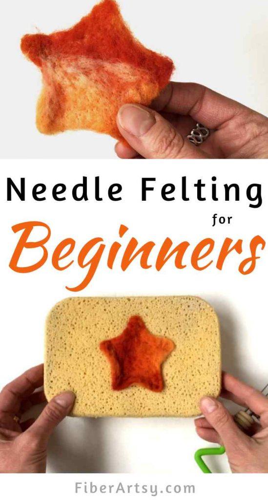 Easy Needle Felting for Beginners