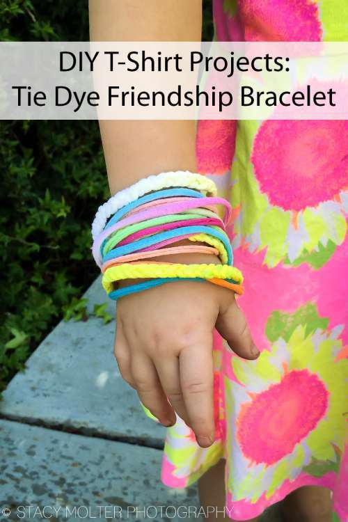 Tie Dyed Friendship Bracelets