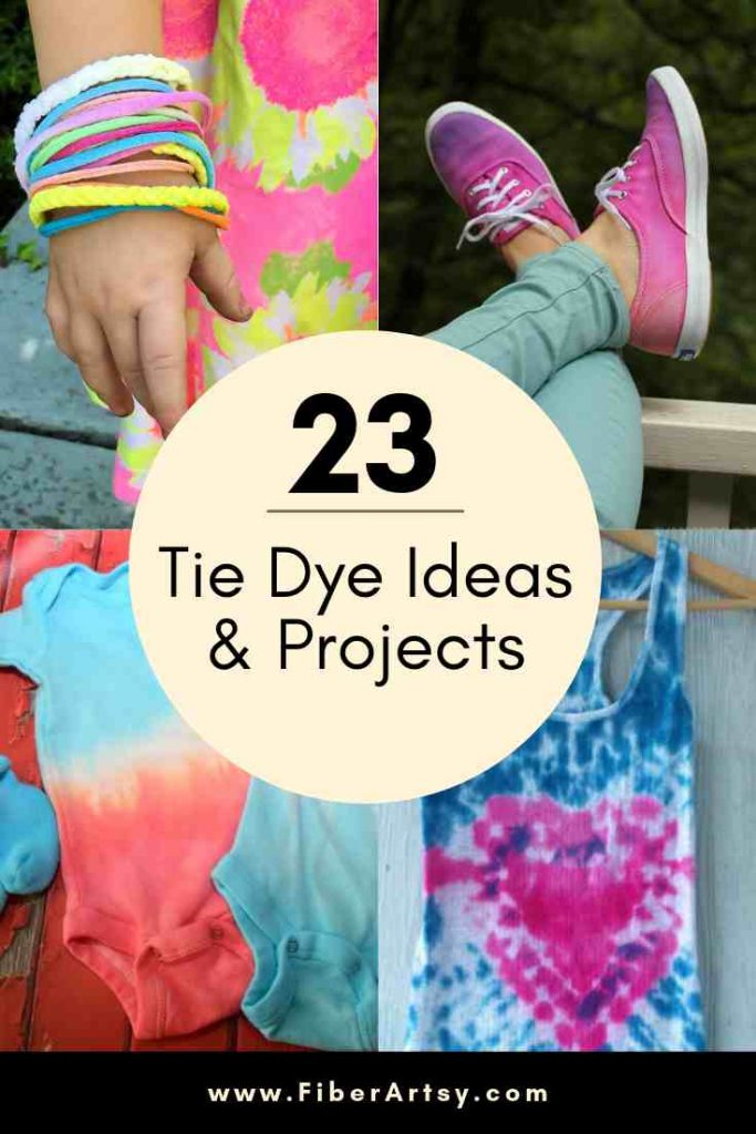 23 Tie Dye Project Ideas