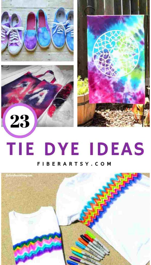 23 Tie Dye Ideas and Dyeing Projects
