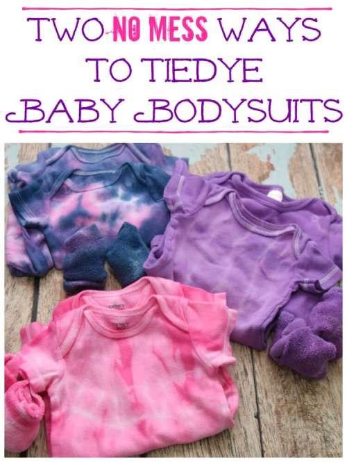 Tie Dyed Baby Bodysuit