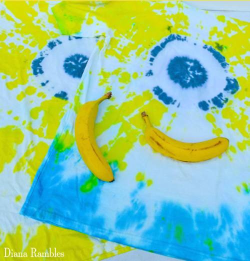 Tie Dyed Minions T Shirt