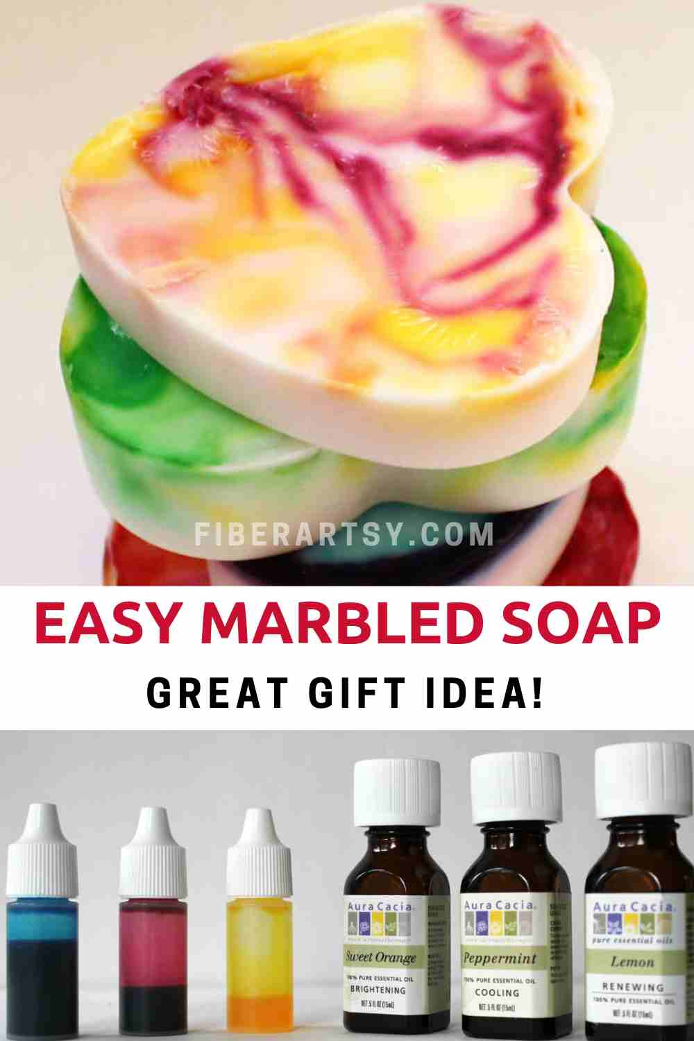 Marbled Goat Milk Soap