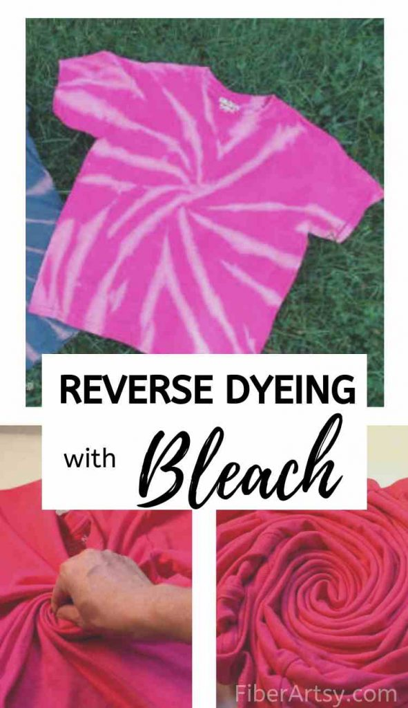 How to tie dye with bleach