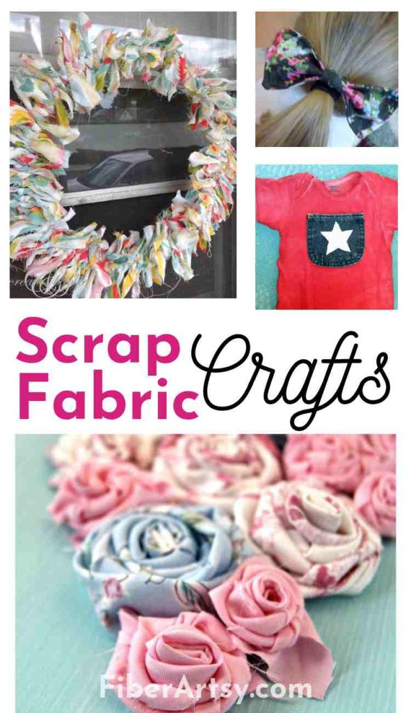 Crafts using Scrap Fabric