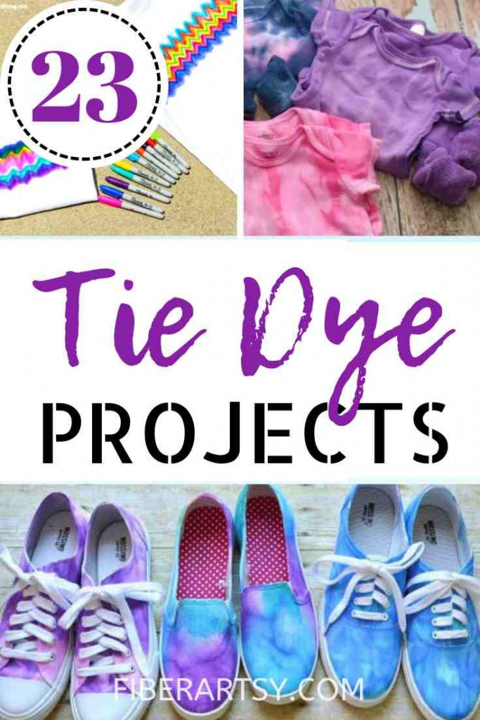 Ideas for Tie Dye Projects