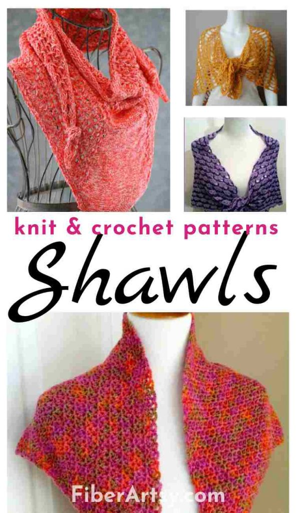 Shawl and Wrap Patterns for Knit and Crochet