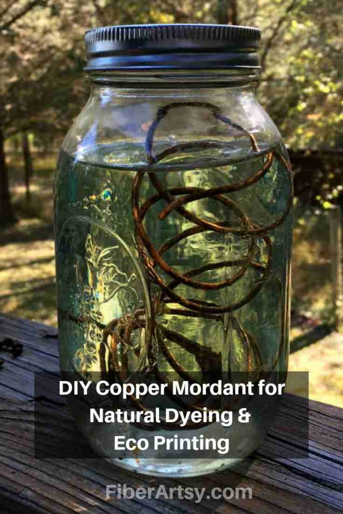 Recipe for a Copper Mordant or Copper Modifier