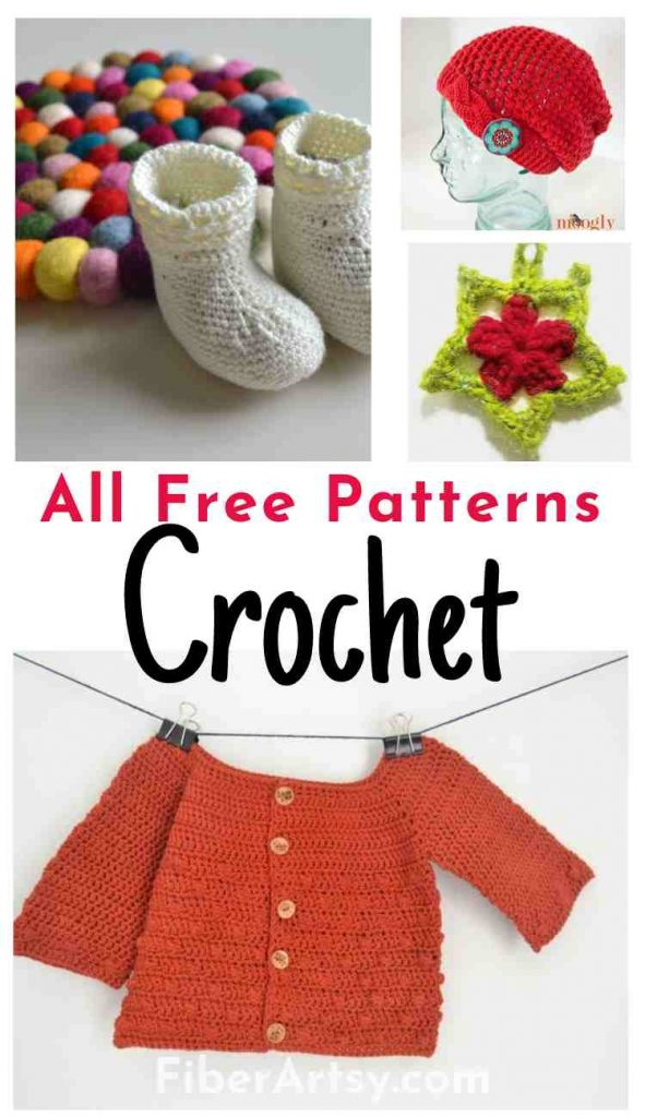 All Free Crochet Patterns