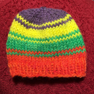 Free Knitting Pattern for a Preemie Baby Hat