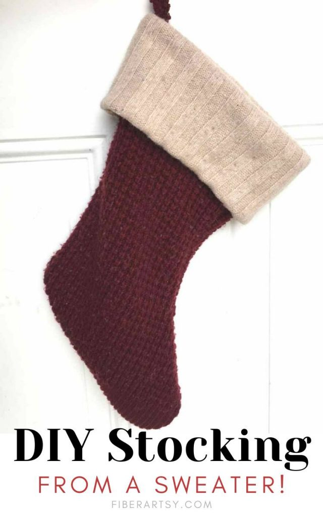 Easy Christmas Stocking