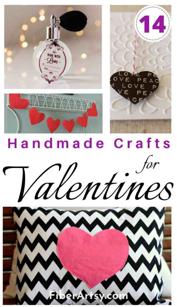 Handmade Crafts for Valentine's Day