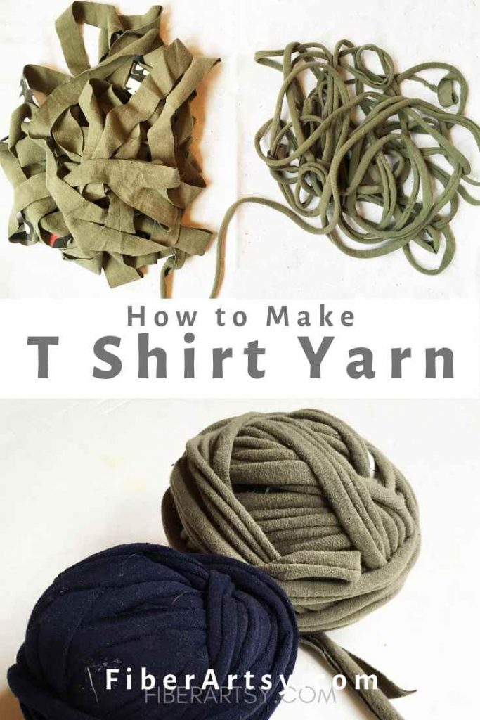 Making TShirt Yarn