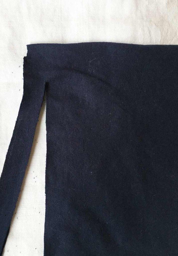 Cutting the t shirt yarn