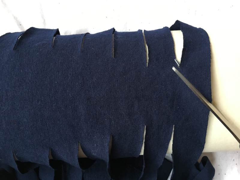 Starting the T Shirt Yarn