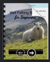 EBook Wet Felting Basics for Beginners