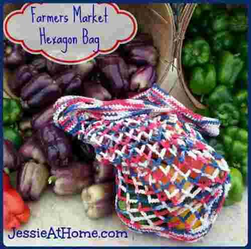 Farmers Market Crochet Bag Pattern