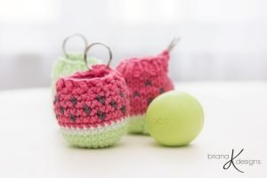 Free Crochet Pattern for a Lip Balm Holder