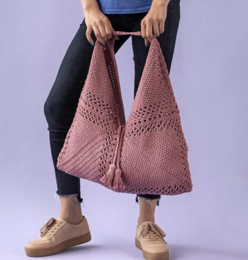 Bluprint Market Bag Crochet Pattern