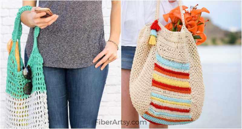 DIY Market Bag Patterns for Crochet