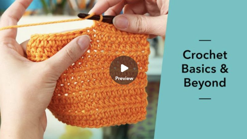 All Free Crochet Patterns - Online Crochet Classes