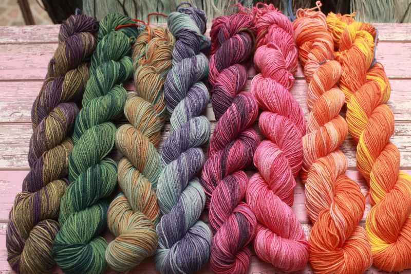Setting Yarn Dyes with Heat